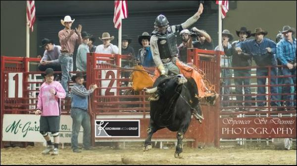Barnes Bull Riding Challenge is coming to Ames, March 2-3