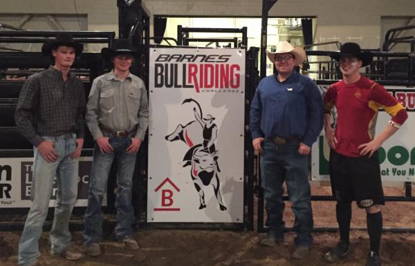 Barnes PRCA Rodeo | News | Iowa State alum give back to ...